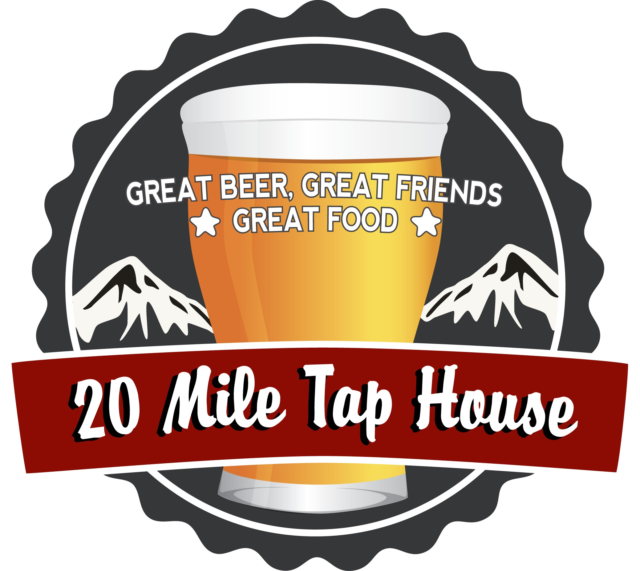 20 Mile Tap House Logo